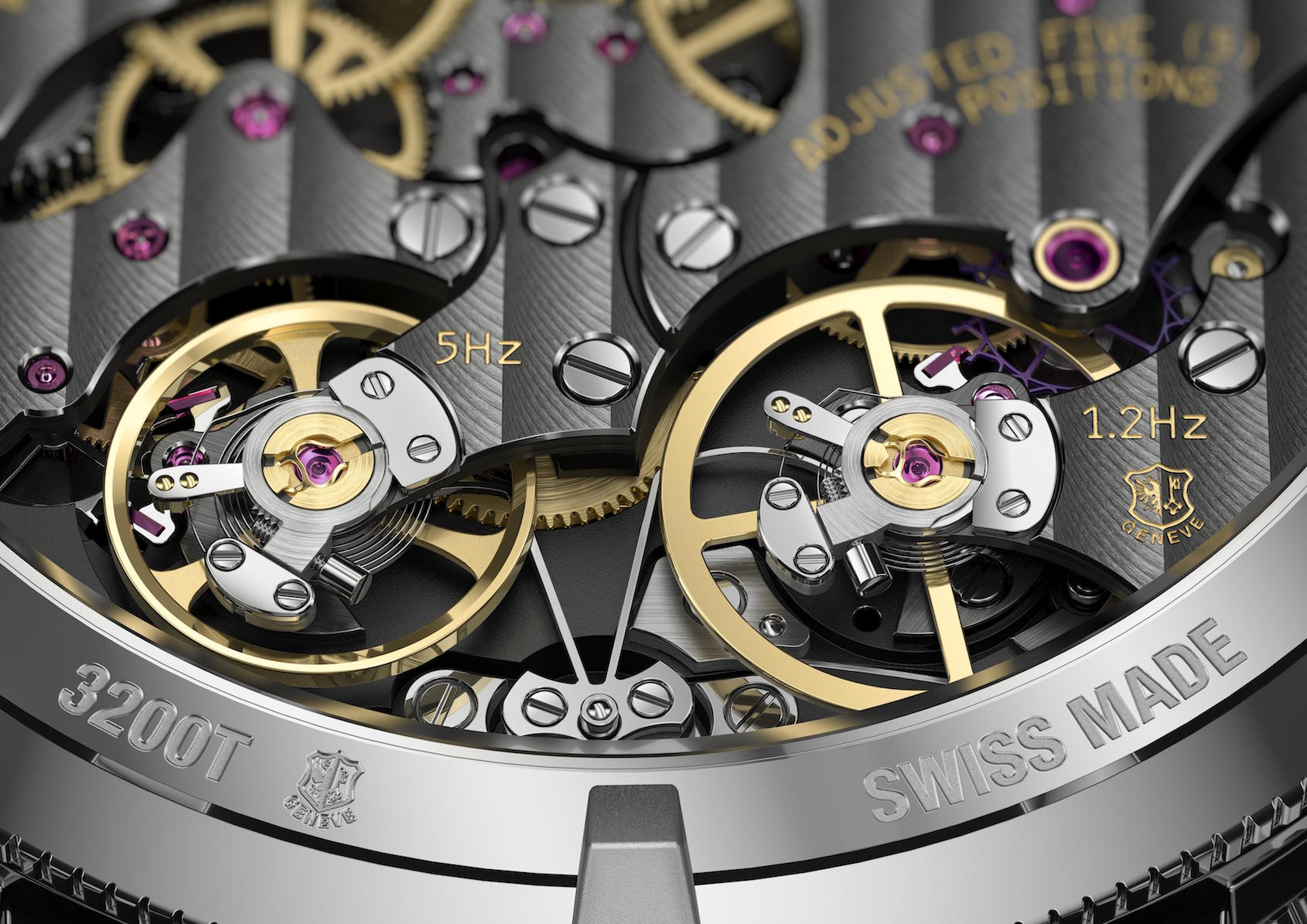 Traditionnelle Twin Beat Perpetual Calendar