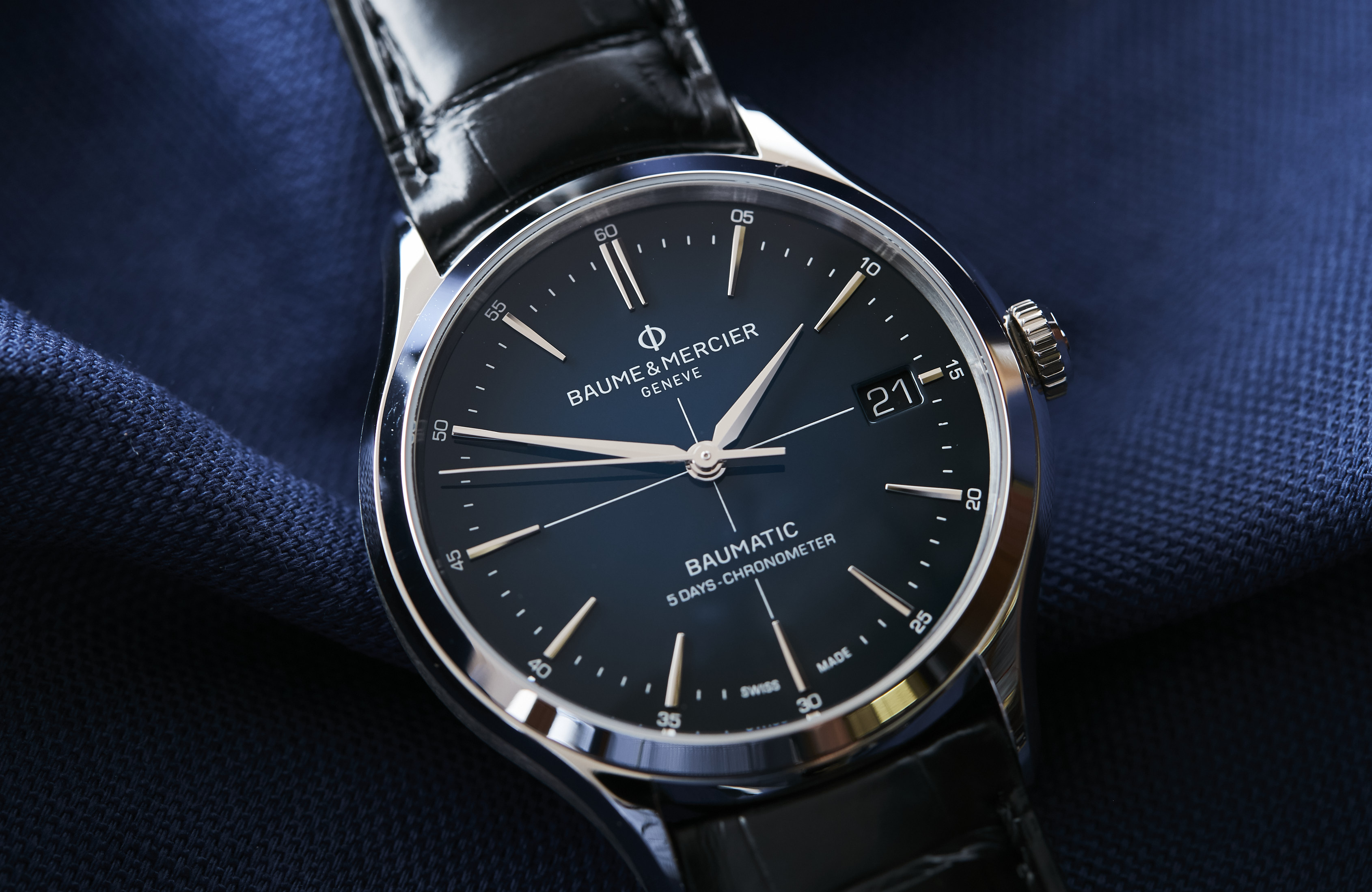 Baume & Mercier Clifton Baumatic 10467 Review