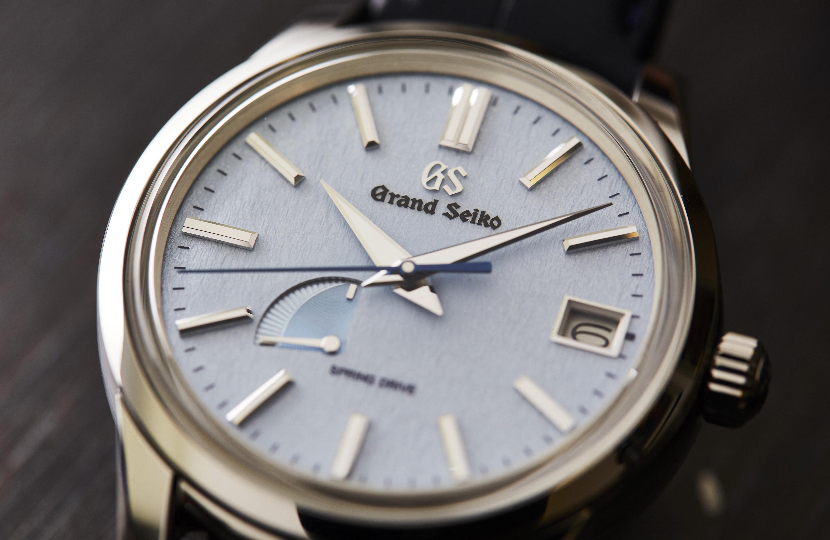 """Grand Seiko SBGA407 """"Snowflake blue"""""""