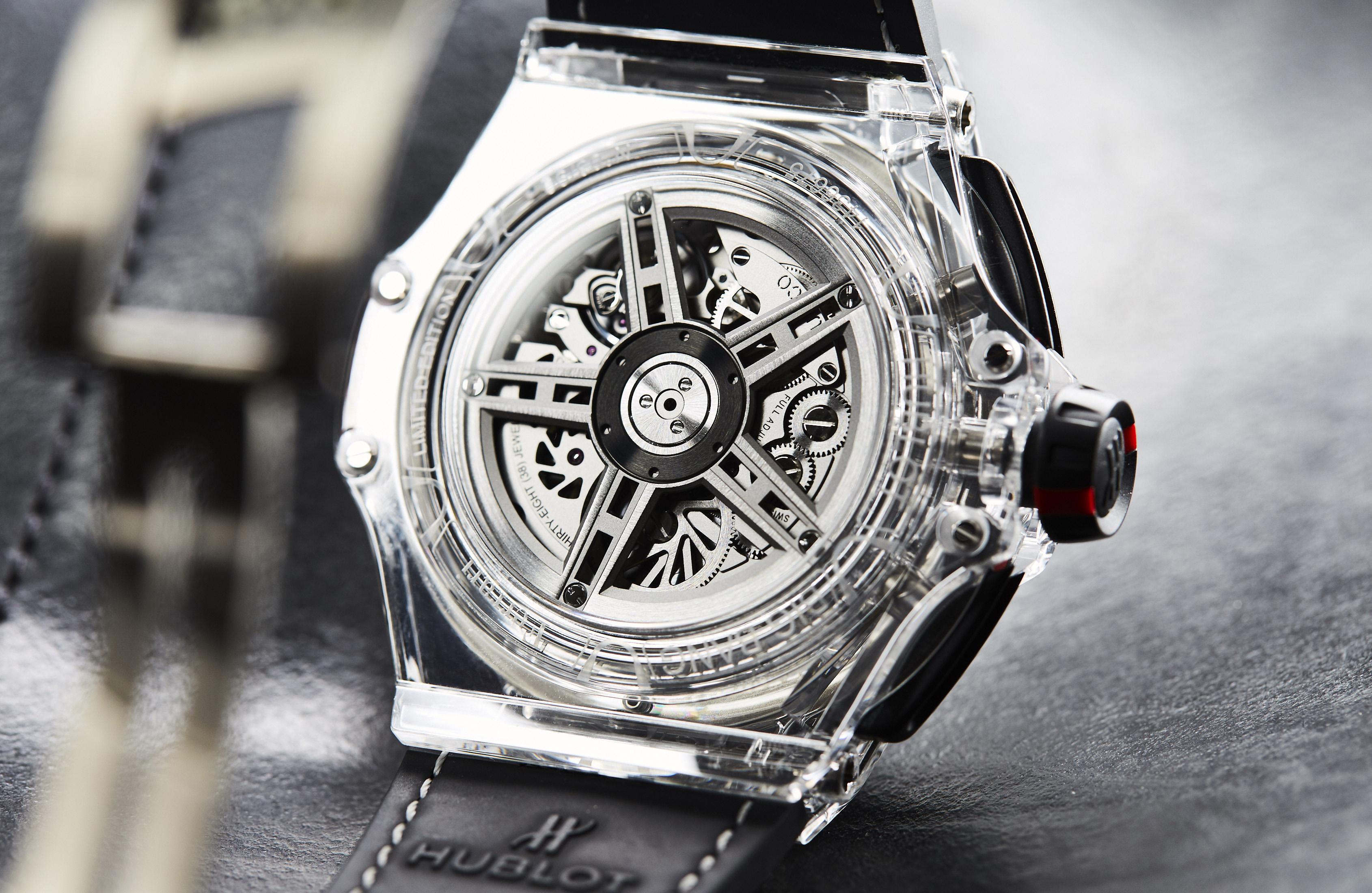 Hublot Big Bang Scuderia Ferrari 90th Anniversary Sapphire