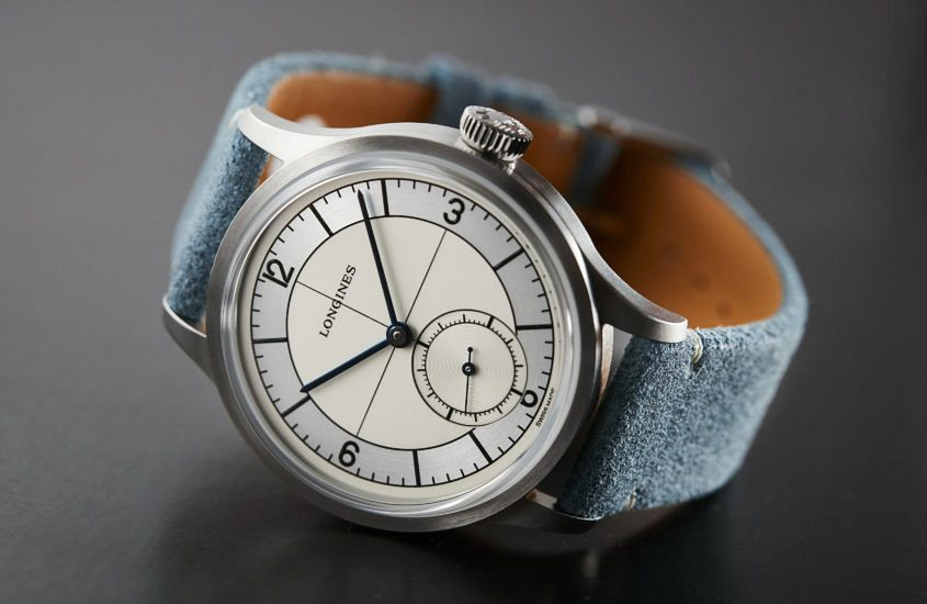 Longines Blue strap 15094 845x550 - HANDS-ON: The Longines Heritage Classic