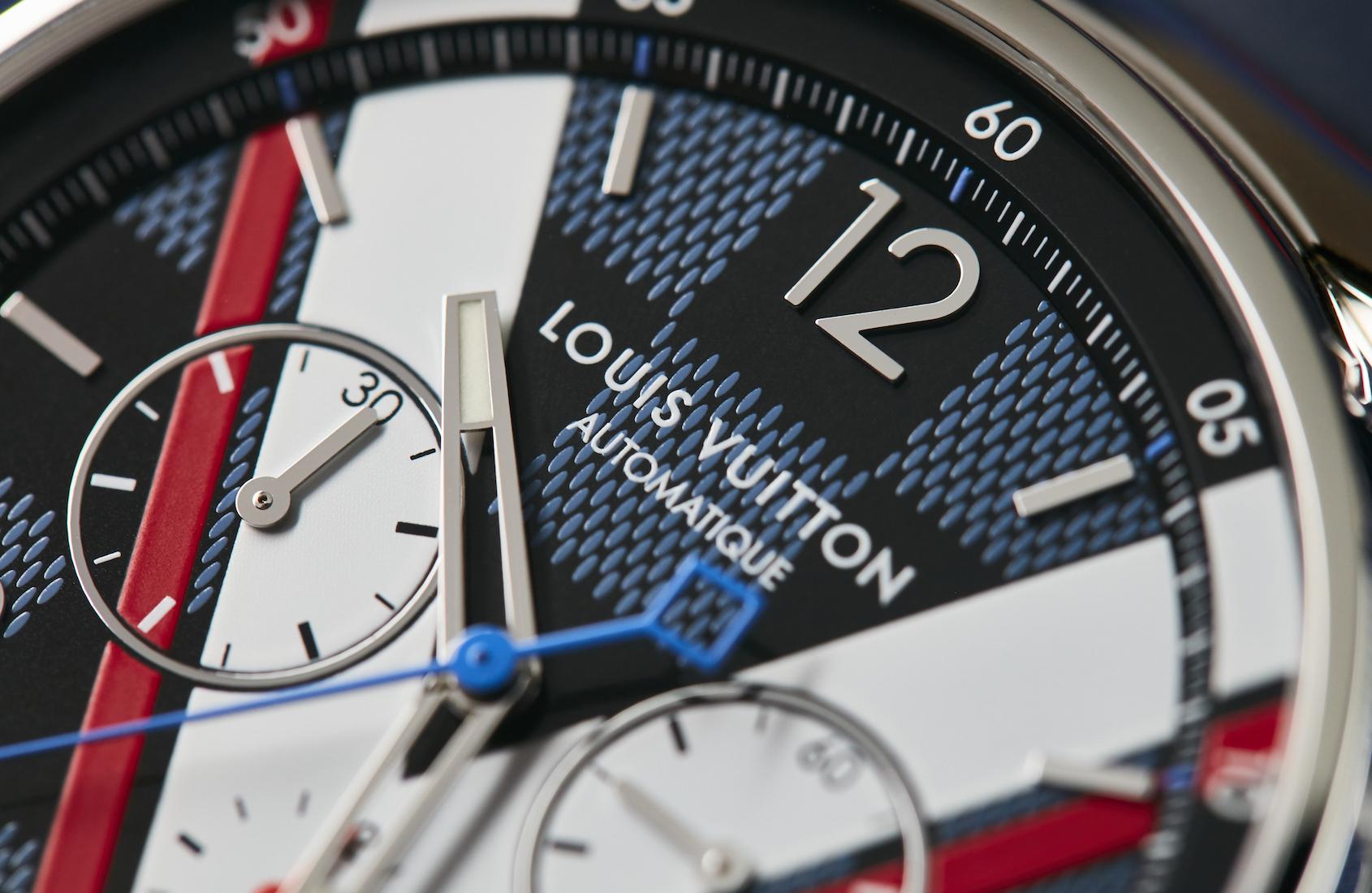 Louis Vuitton Tambour Damier Cobalt