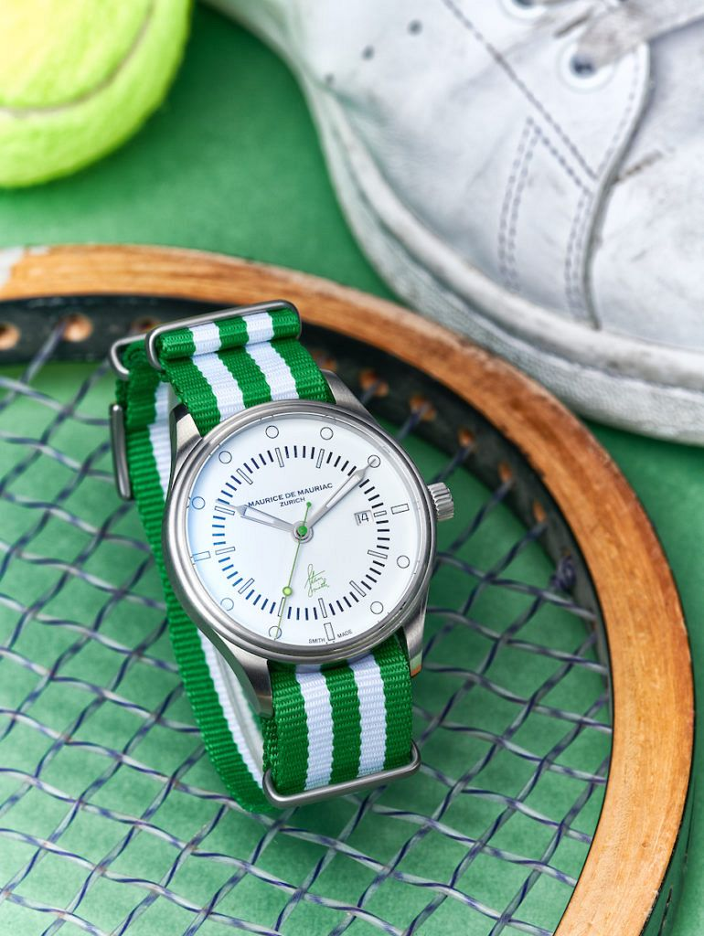 StanSmithUhr Tennismood 01 Fin 1 770x1024 - INTRODUCING: The Stan Smith Signature Watch by Maurice de Ma...