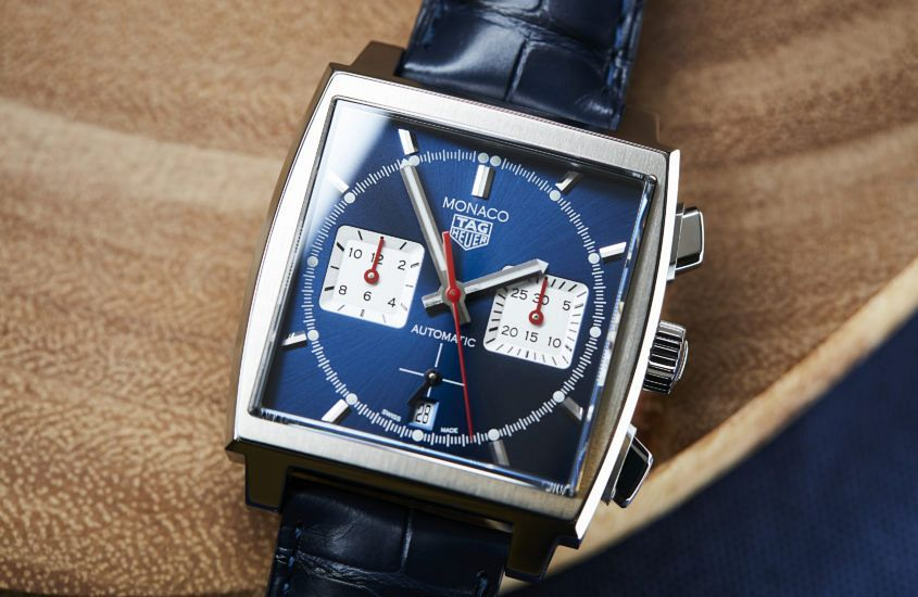 TAG Heuer Monaco Blue 01 845x550 - VIDEO: Is this the most important TAG Heuer Monaco?