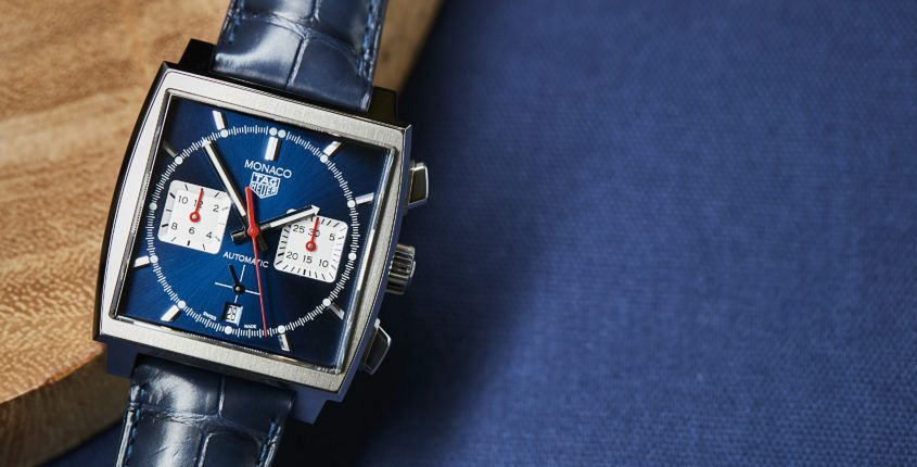 TAG Heuer Monaco Blue 2268 845x430 - HANDS-ON: TAG Heuer Monaco Calibre Heuer 02