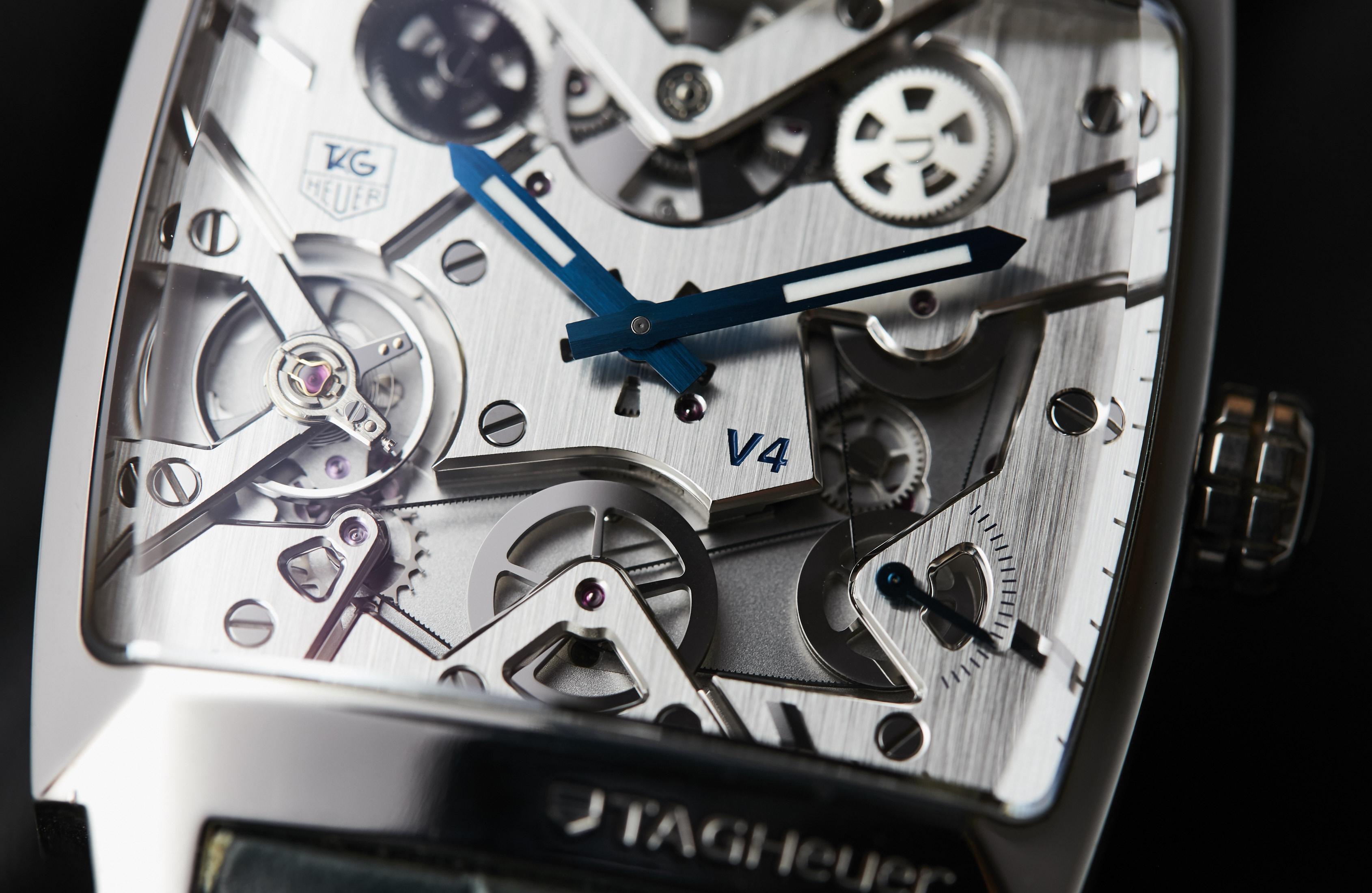 TAG Heuer Monaco V4 Platinum