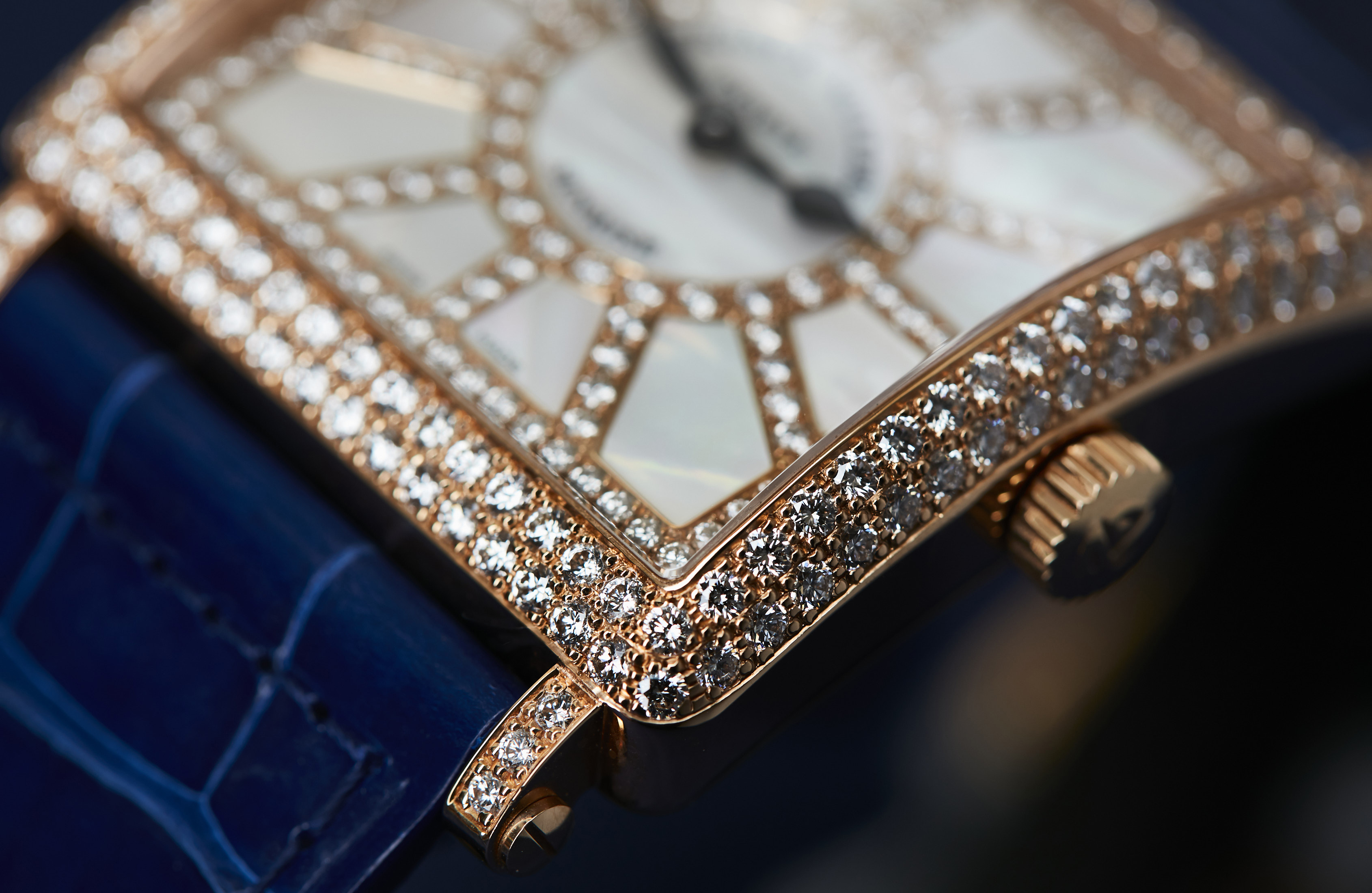 Franck Muller diamonds