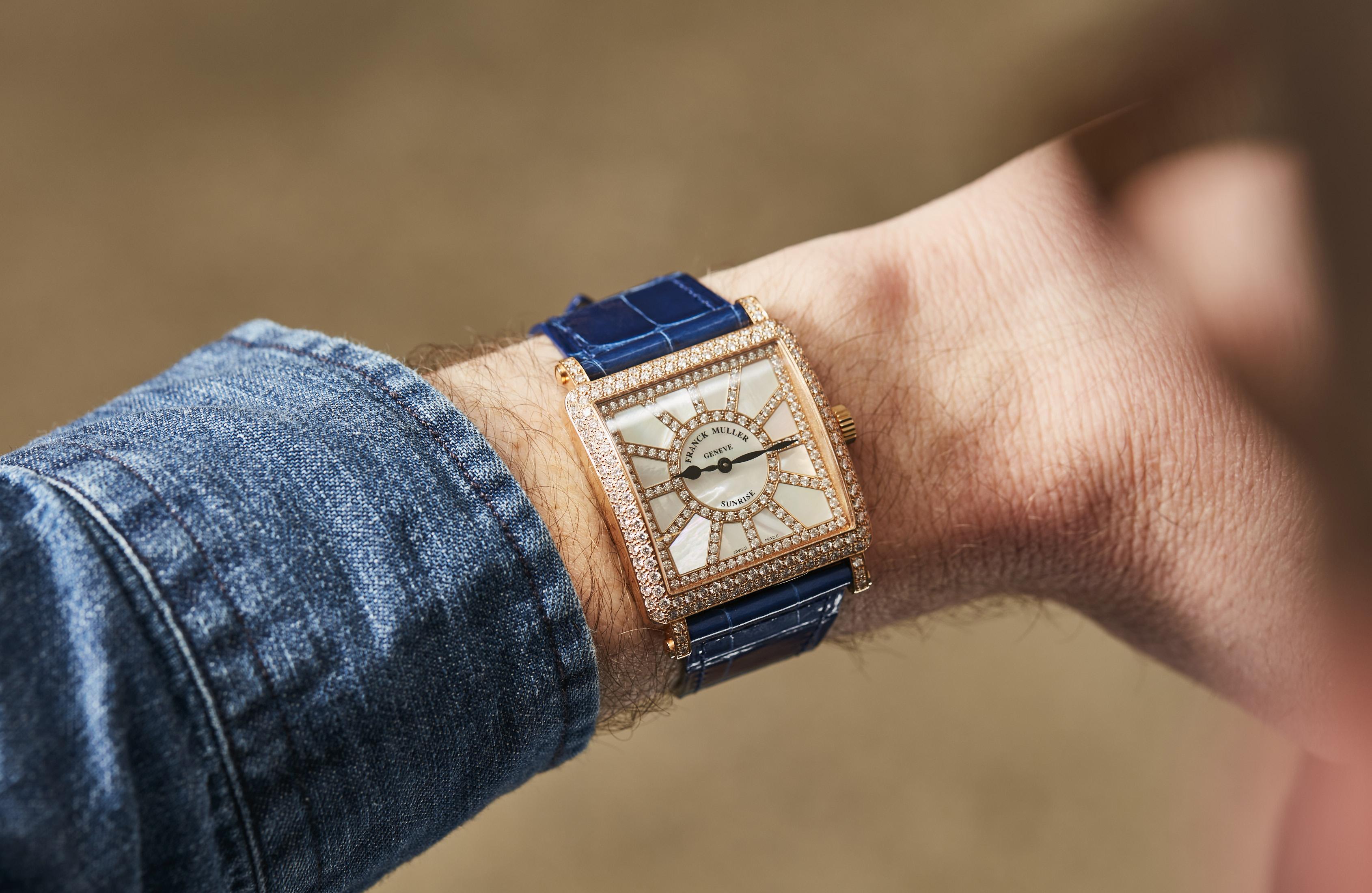 Franck Muller diamonds