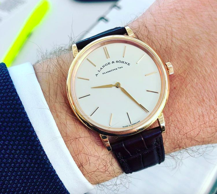 My Week With The A Lange Sohne Saxonia Thin 37mm Time And