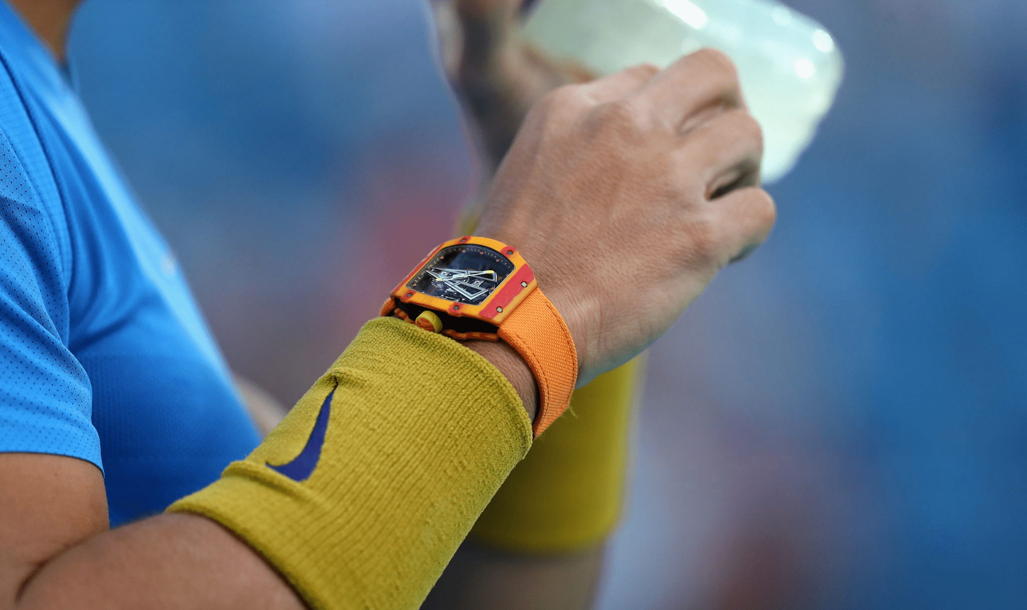 playing sport with your watch on is a daft idea