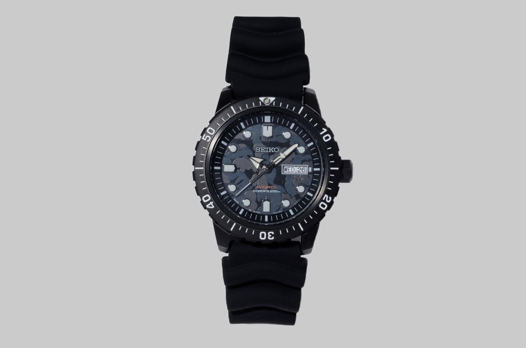 Seiko Bape watch