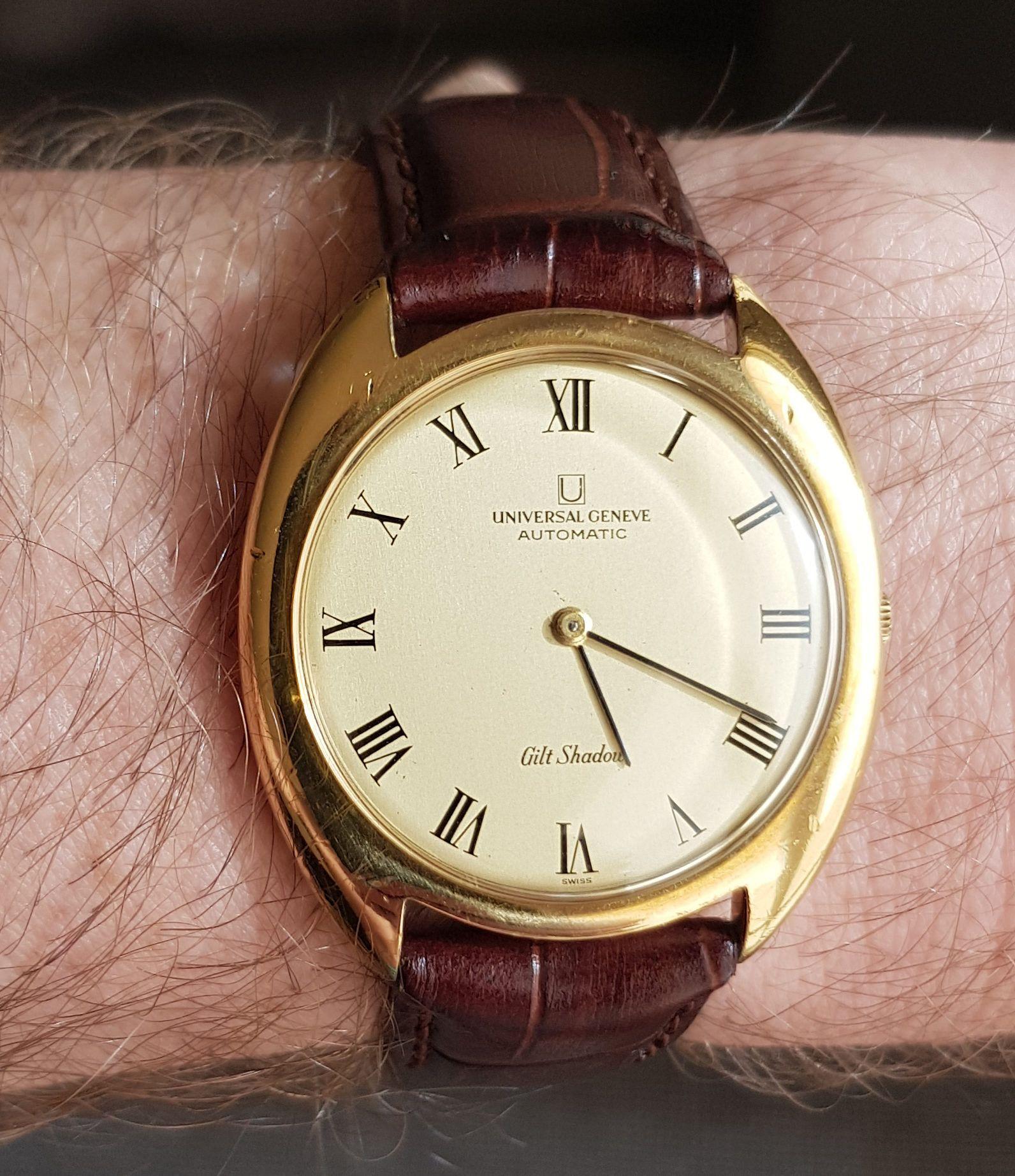 Weekend watch spotting with JR vintage