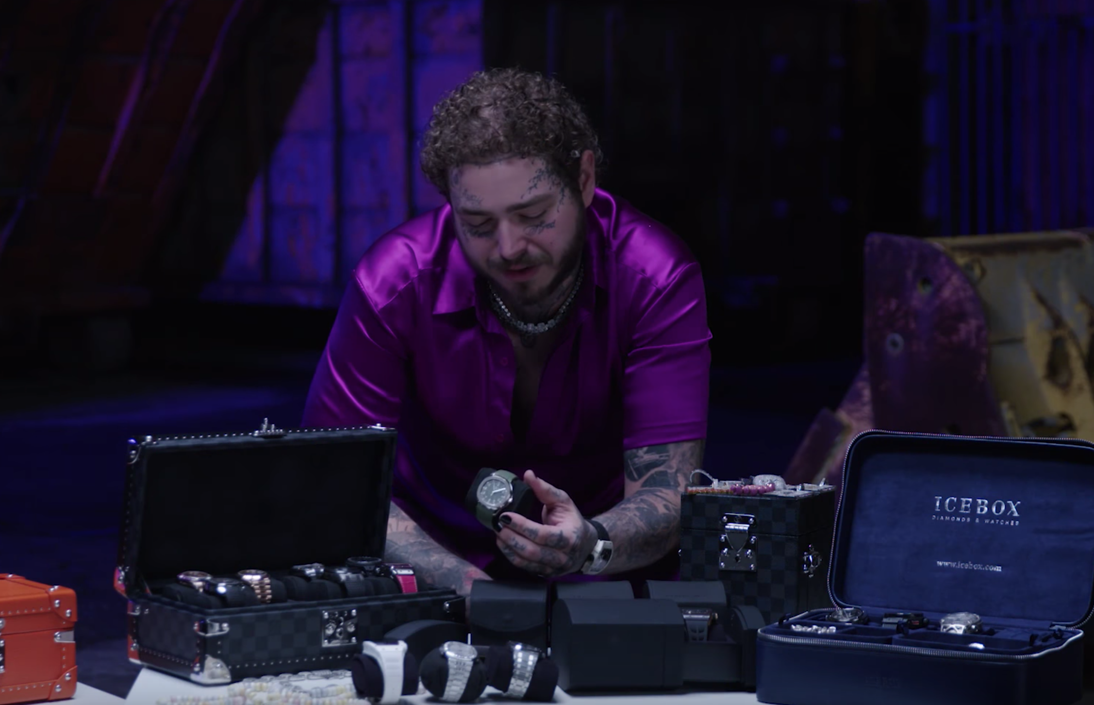 Post Malone Watch Collection