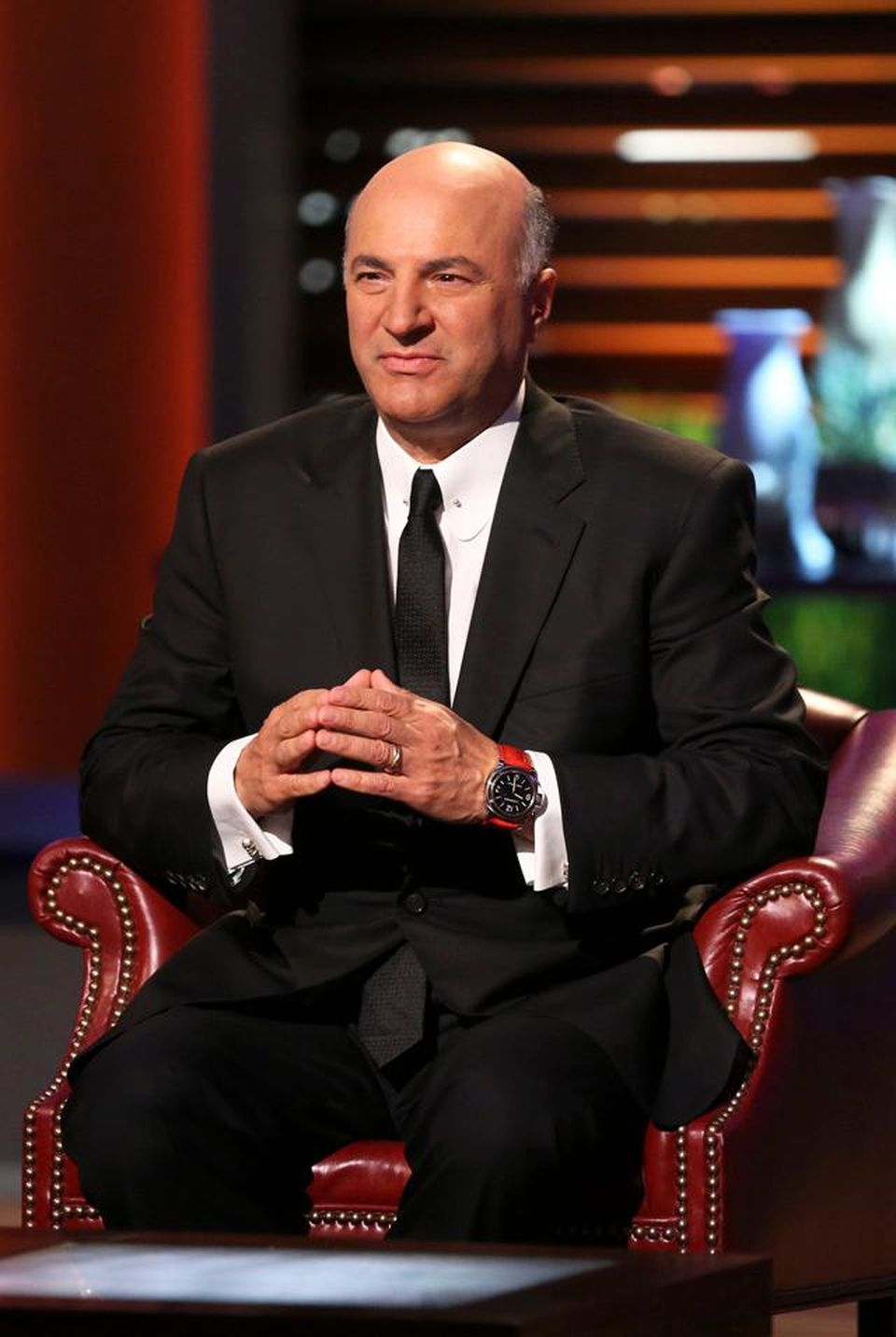 Kevin O'Leary watches
