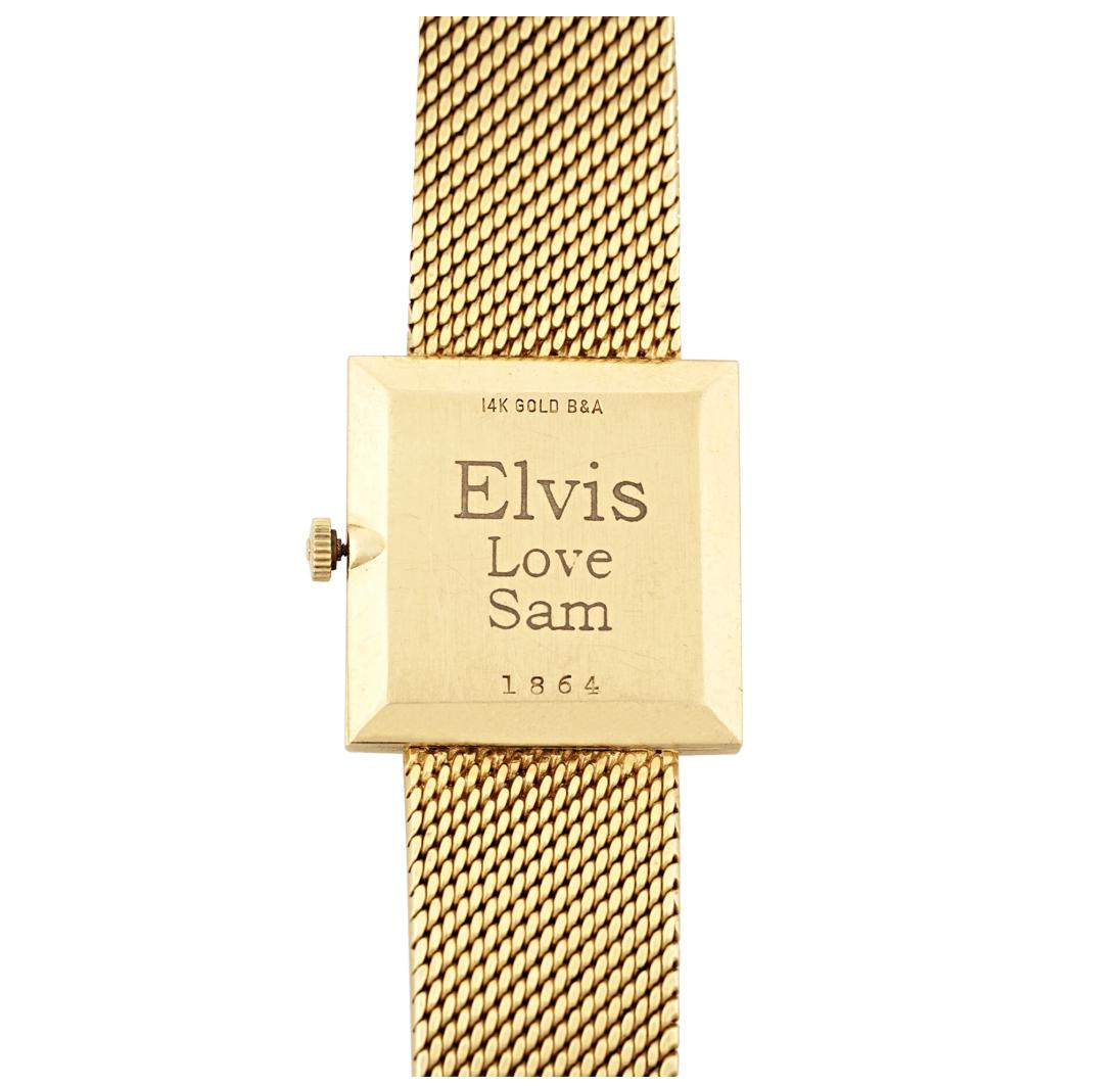 Elvis Presley's gold Universal Geneve