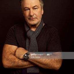 Alec Baldwin watches