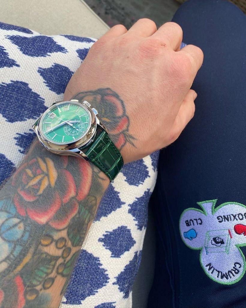 Conor McGregor Patek Philippe watch collection 2020