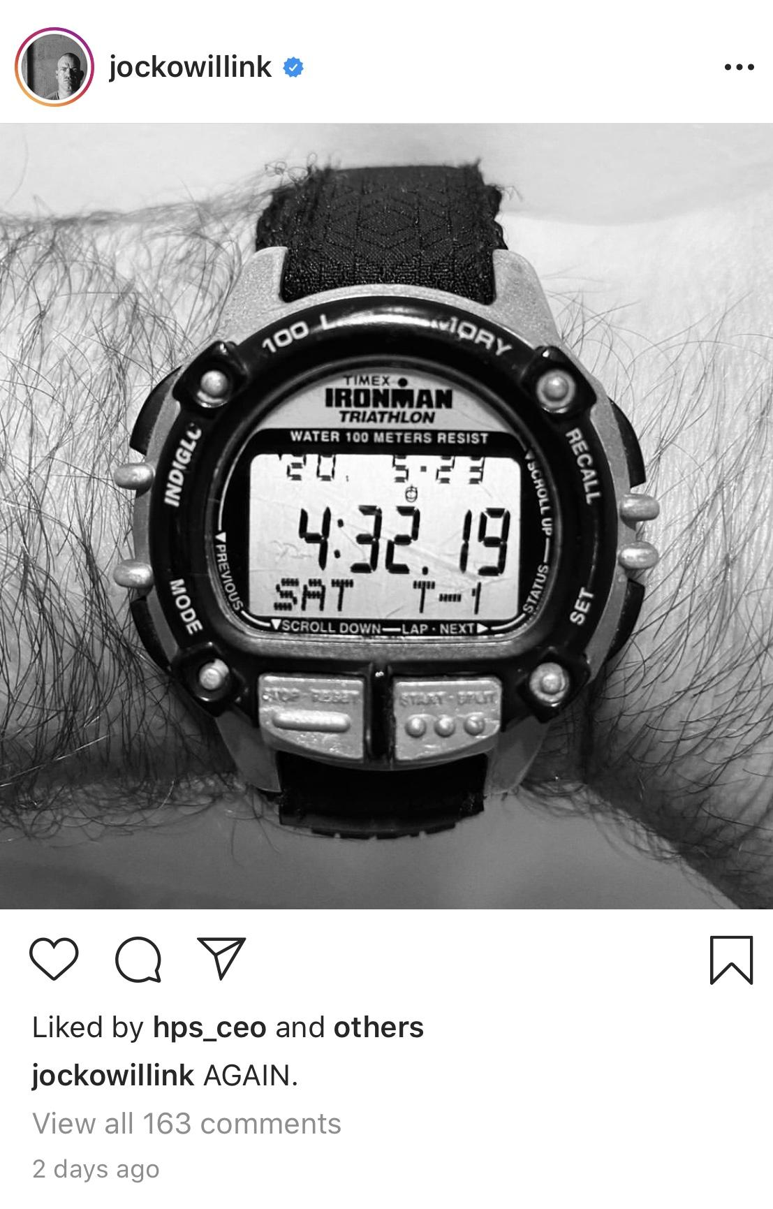 Jocko Willink's Timex