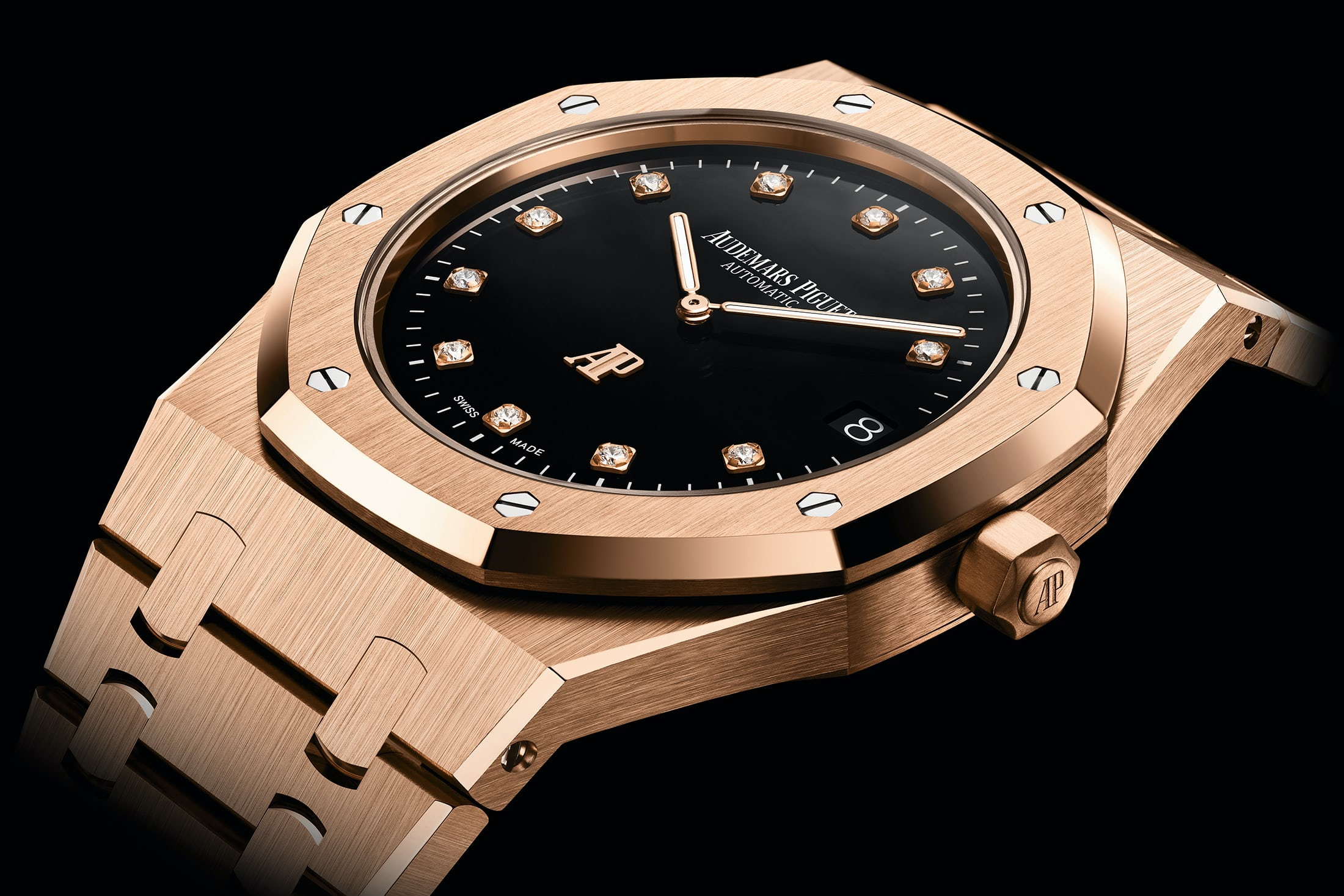 Audemars Piguet Royal Oak Jumbo Extra-Thin with onyx dial