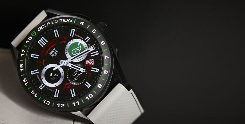 TAG Heuer Connected Golf Edition