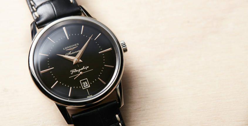Longines Flagship Heritage black dial