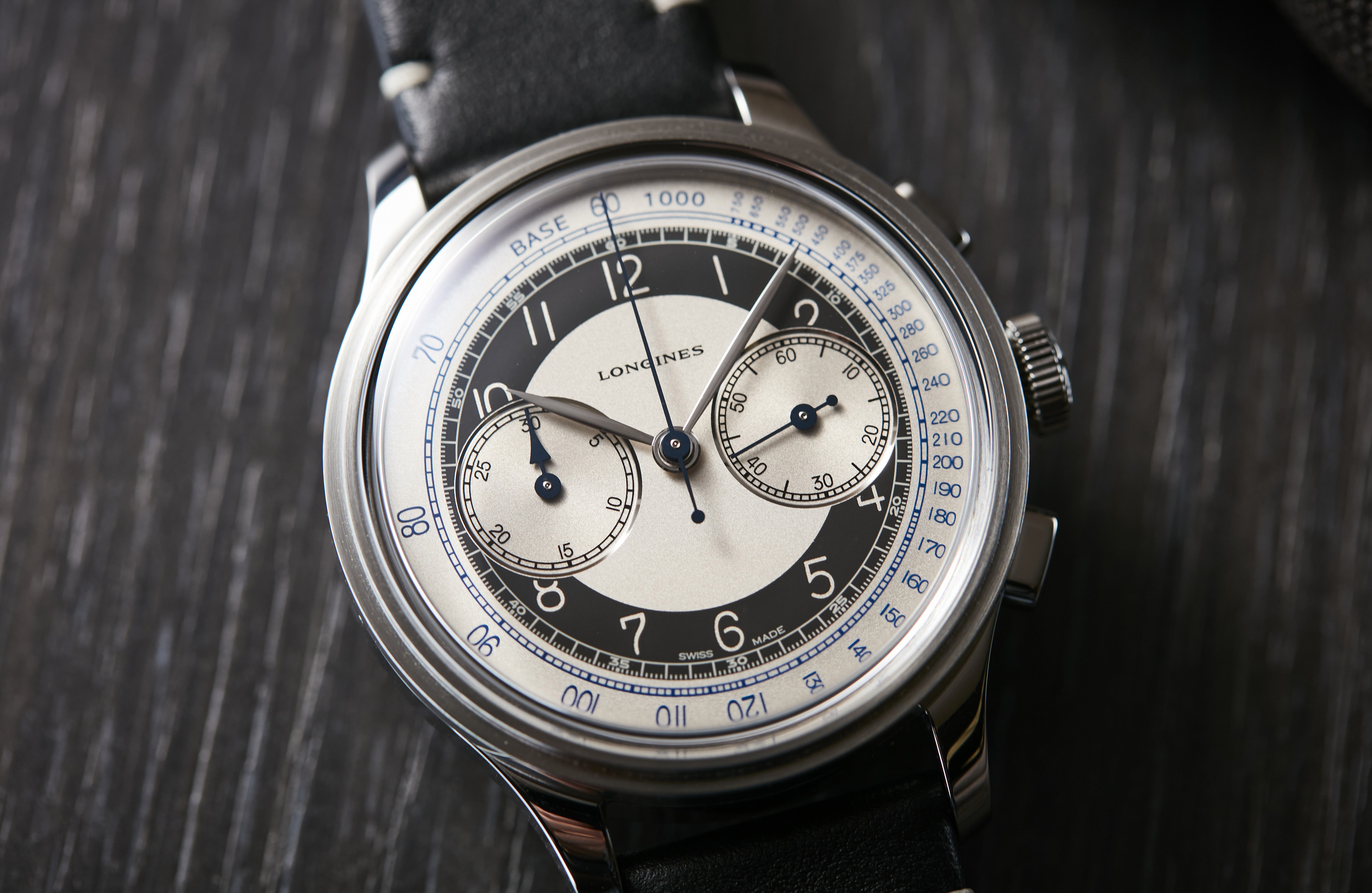 HANDS-ON: Longines Heritage Classic 'Tuxedo' collection