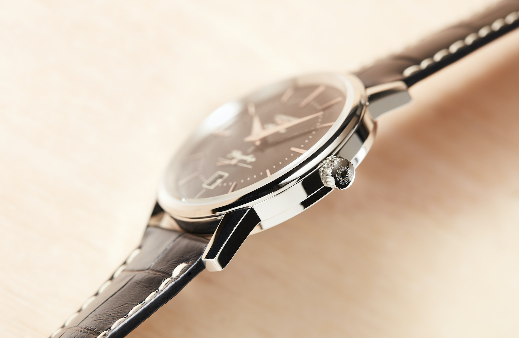 Longines Flagship Heritage black dial