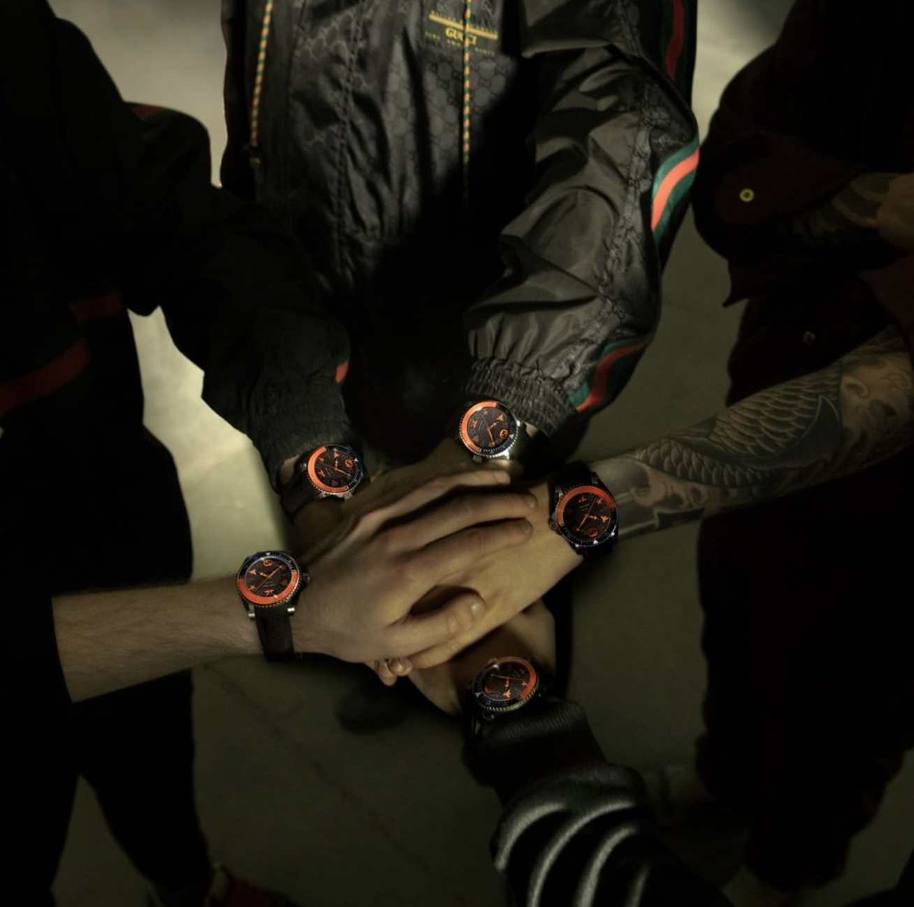 Gucci Fnatic dive watch gamer watch esport