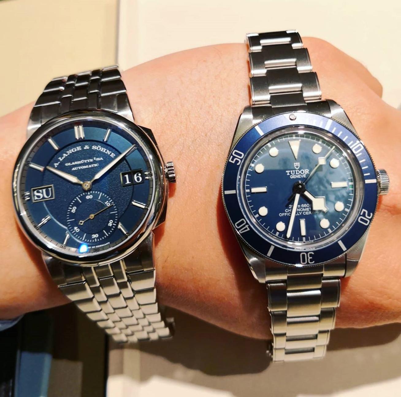 Tudor Black Bay 58 blue new watch rolex tudor