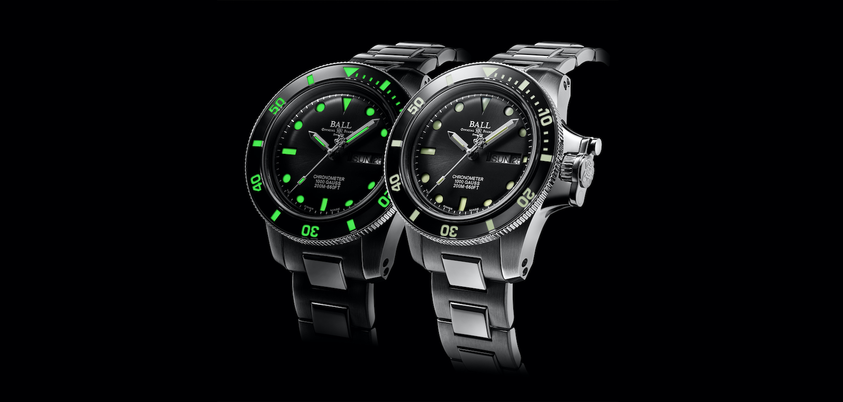 INTRODUCING: The Ball Engineer Hydrocarbon Original is a bulletproof diver with a brutal point of difference
