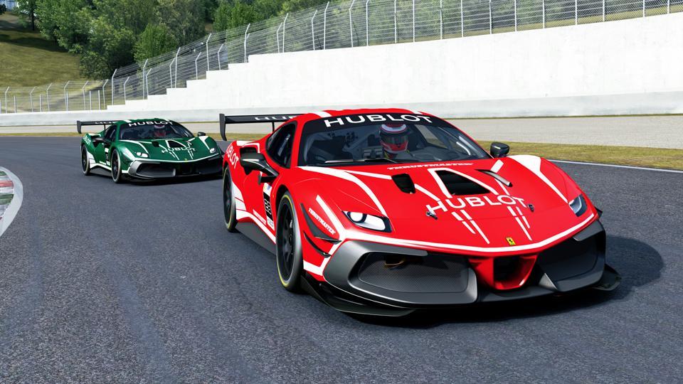 Hublot Ferrari Esports Series sim gaming racing 2020