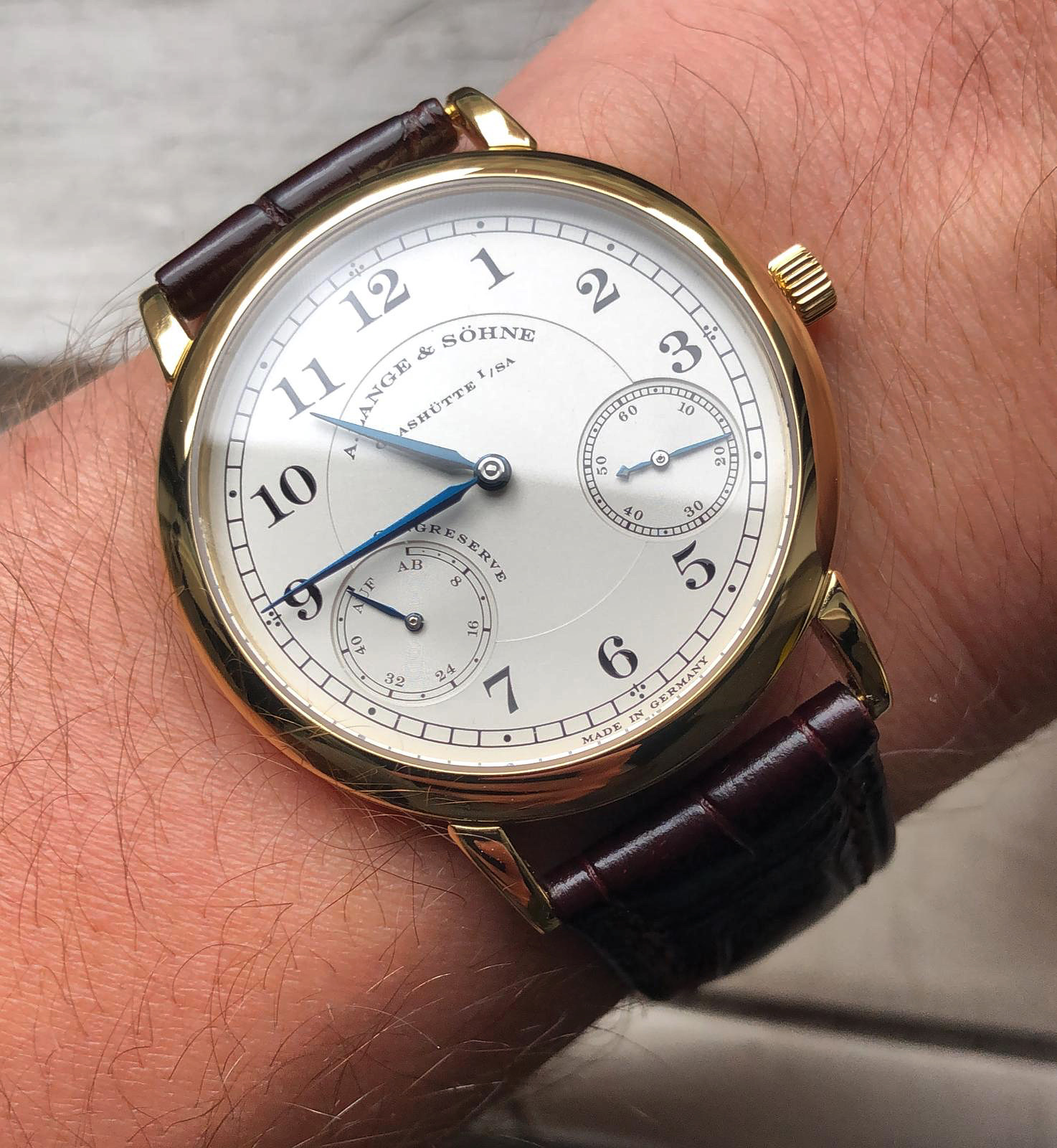 A. Lange & Söhne 1815 Up/Down 36mm review