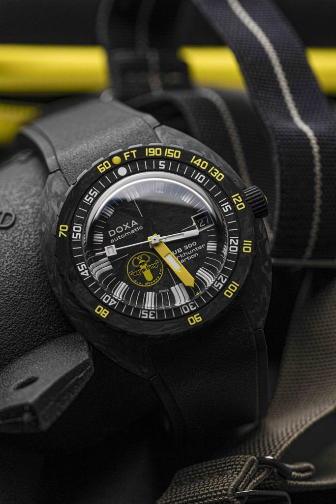 The DOXA SUB 300 Aqualung US Divers Limited Edition