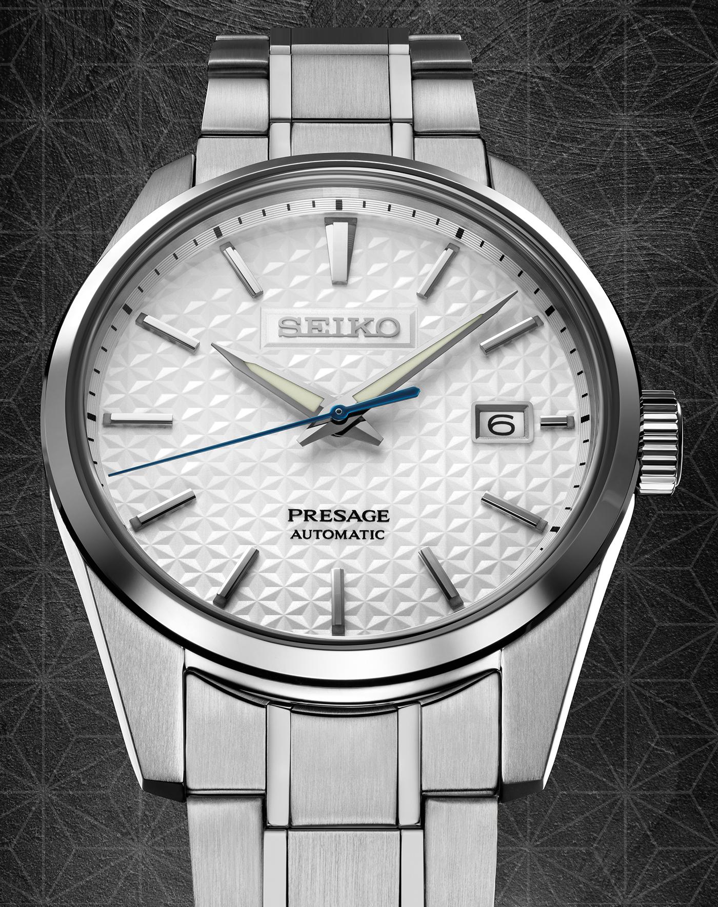 Seiko Presage Sharp Edged Series