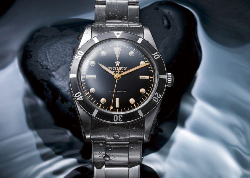 Rolex dive watch history