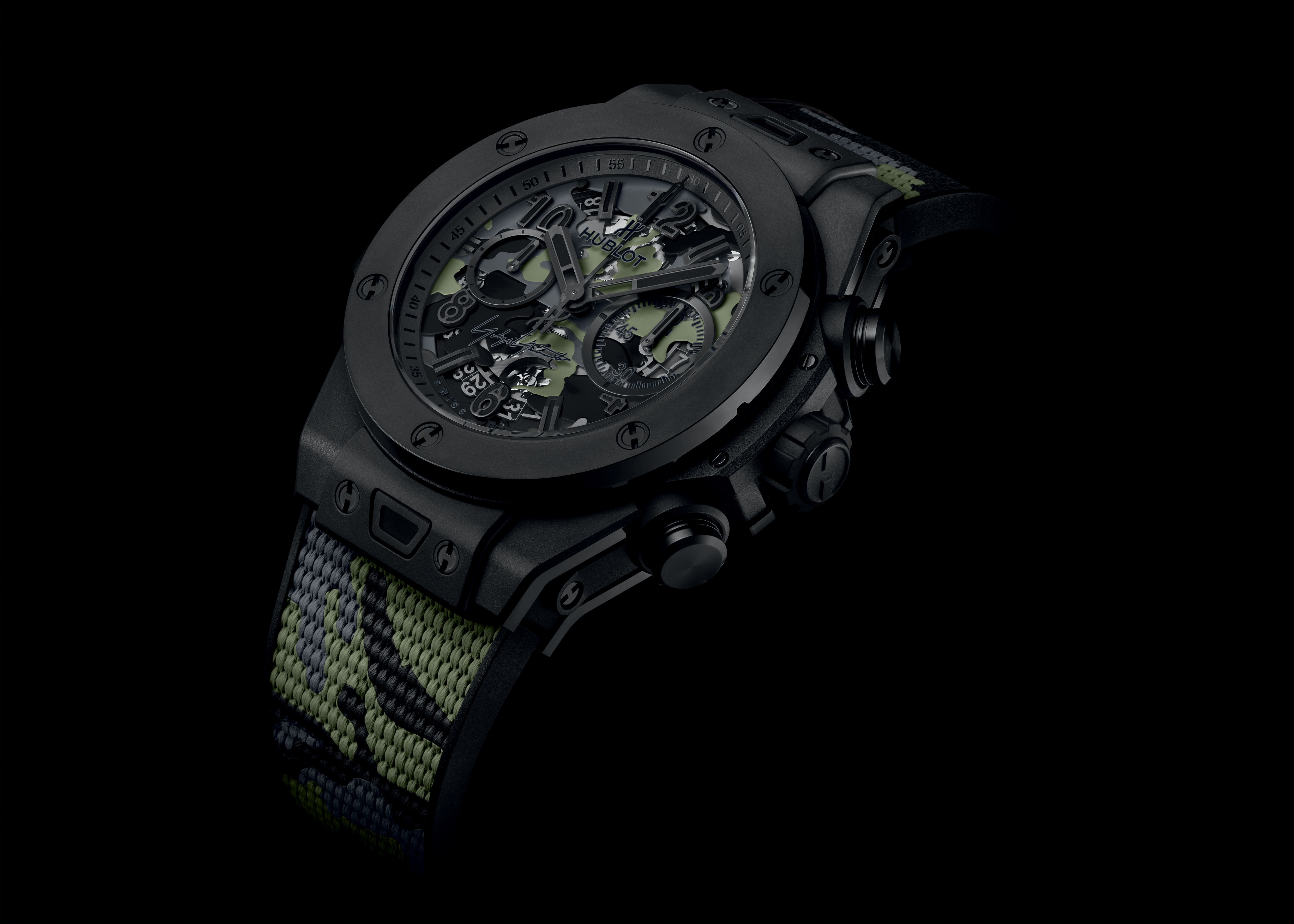INTRODUCING: The Hublot Big Bang Camo Yohji Yamamoto is everything that's great about the brand, in a watch