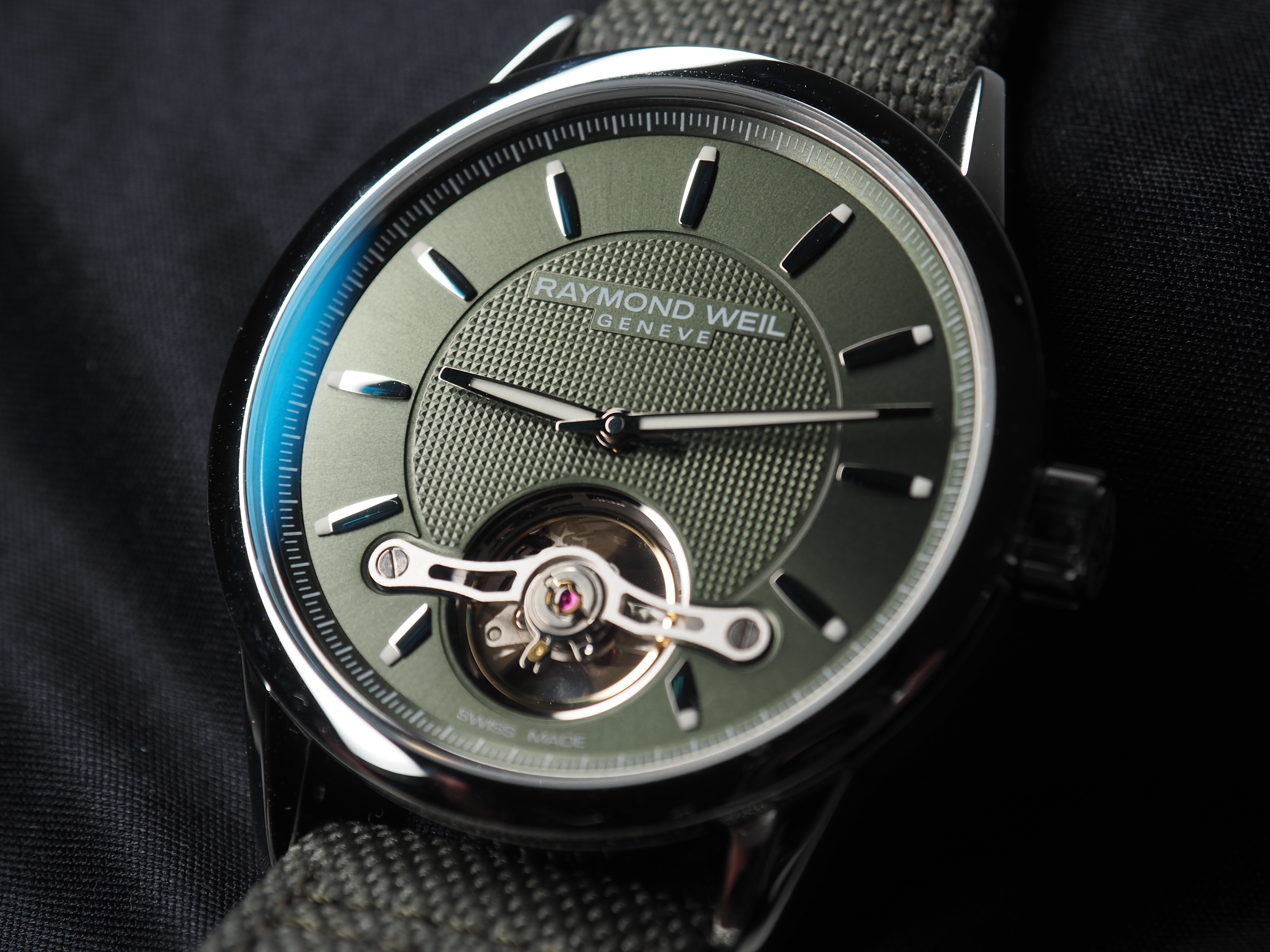 Raymond Weil Freelancer Calibre RW1212 Green video review pricing 2020