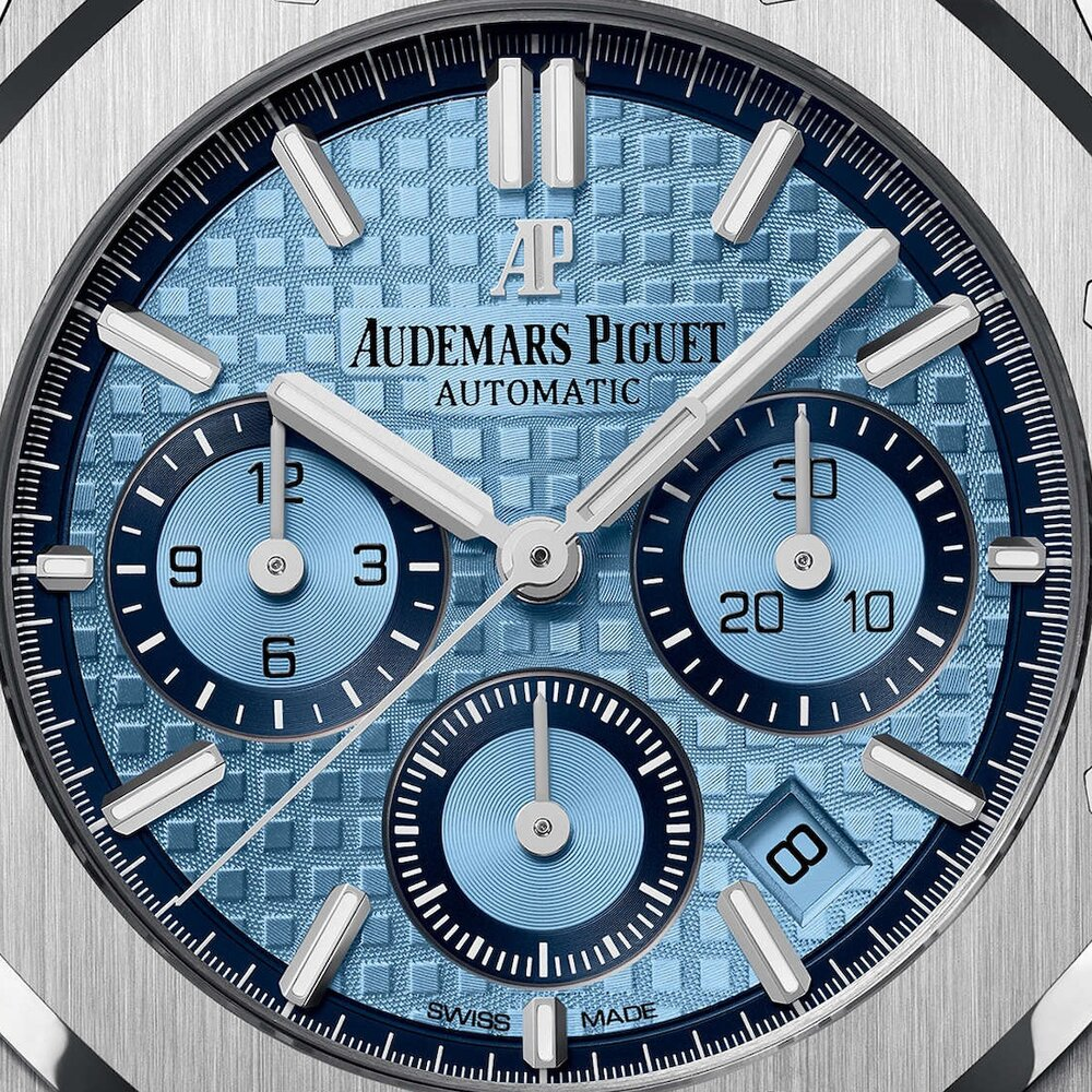 Audemars Piguet Royal Oak Chronograph Limited Edition In 18k White Gold