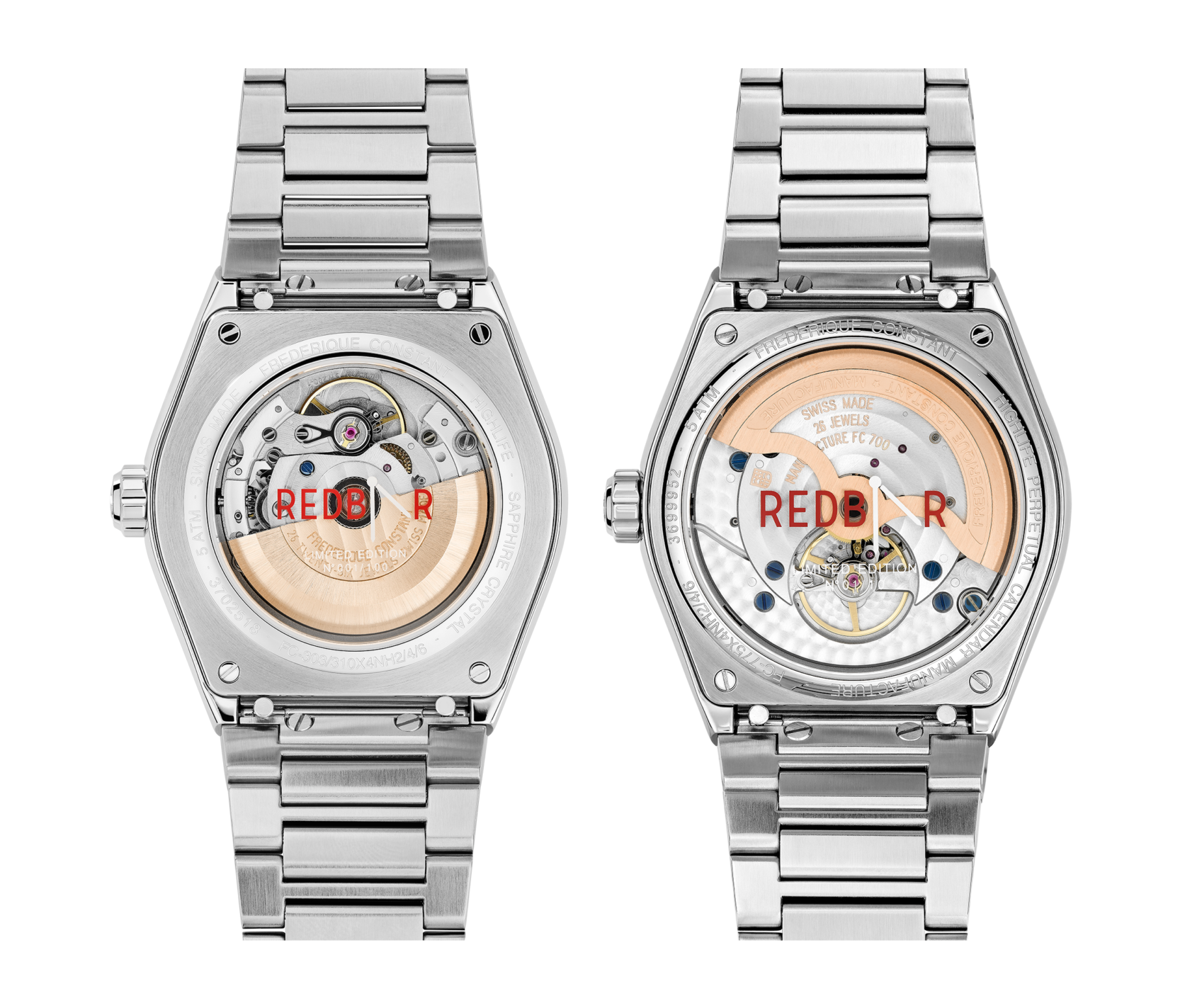 Frederique Constant Highlife RedBar Limited Editions