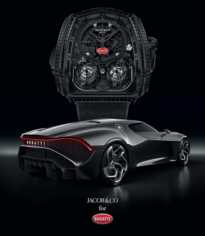 Jacob & Co. Twin Turbo Furious Bugatti La Montre Noire