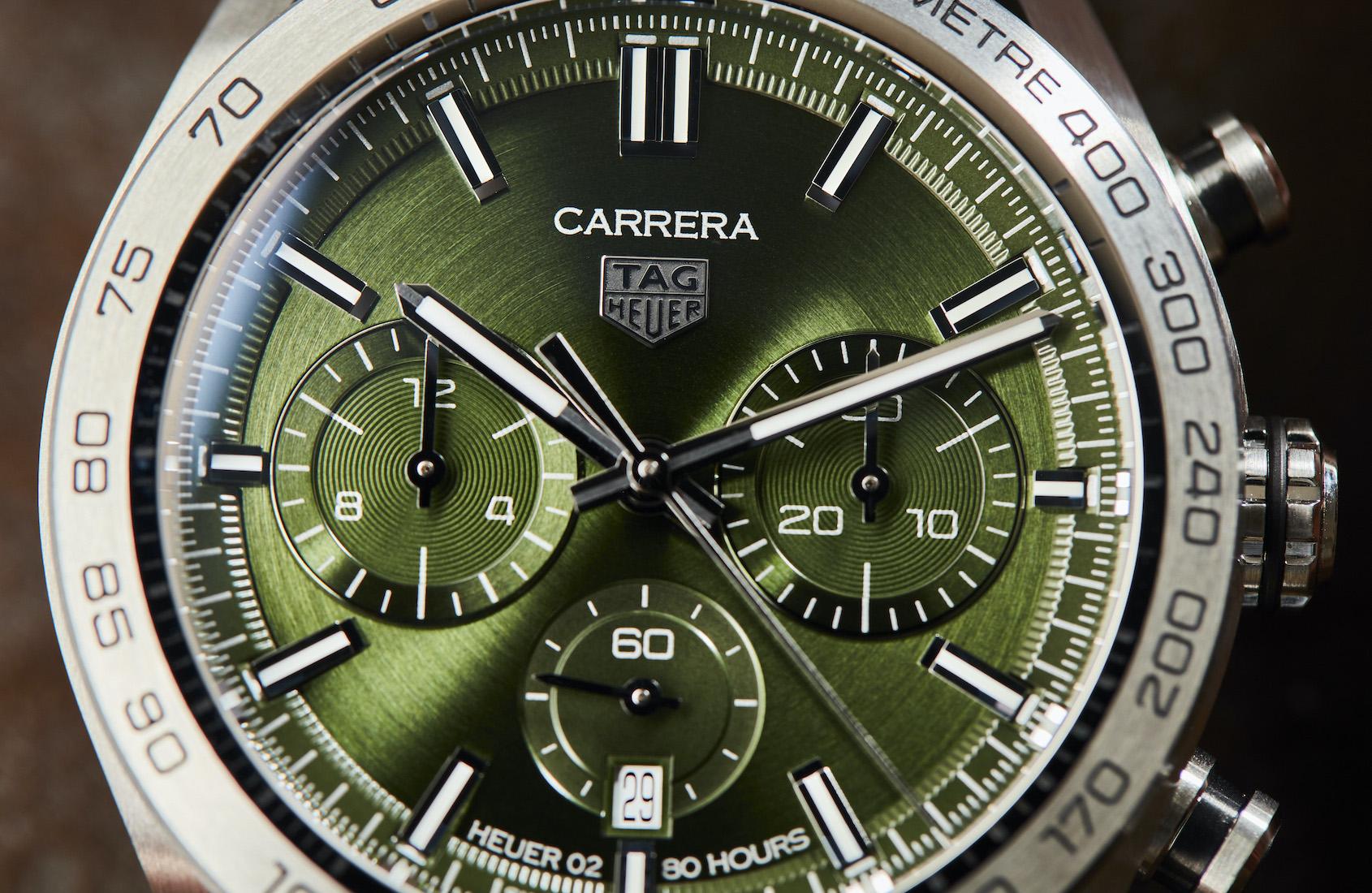 TAG Heuer Carrera Sport Chronograph green dial