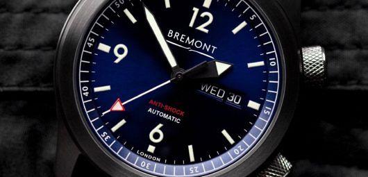 Bremont U-2 Blue