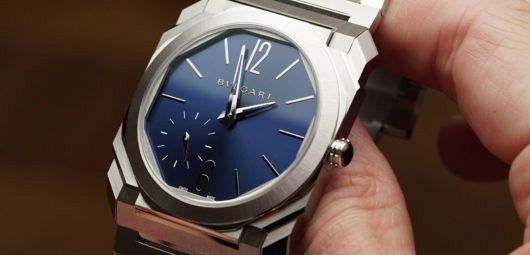 Bulgari Octo Finissimo blue dial