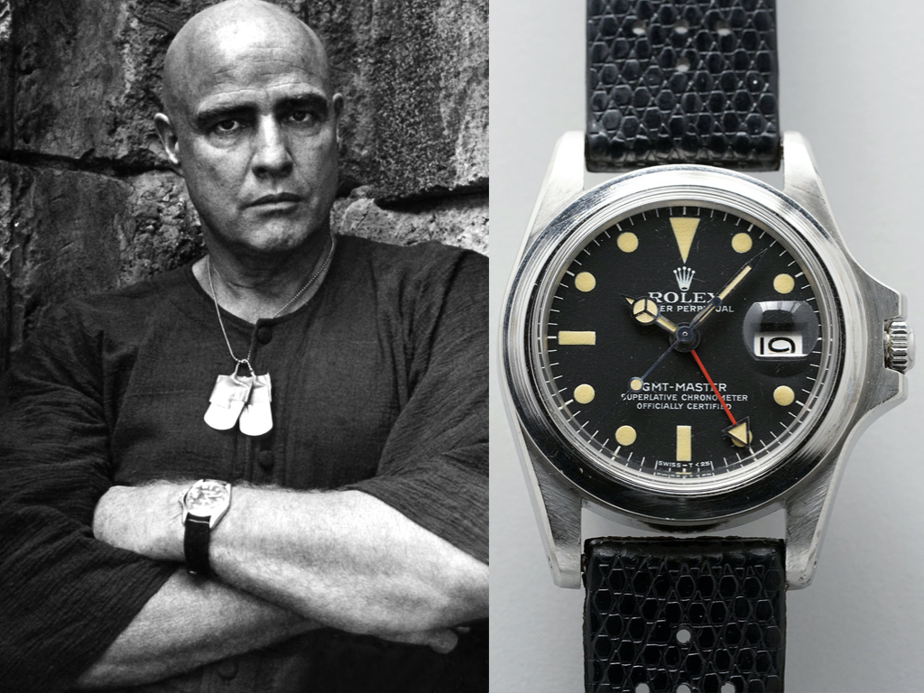 hammer prices of celebrity owned watches