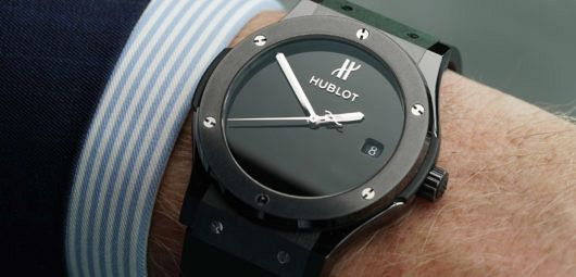 Hublot 40 Years Anniversary Black Ceramic