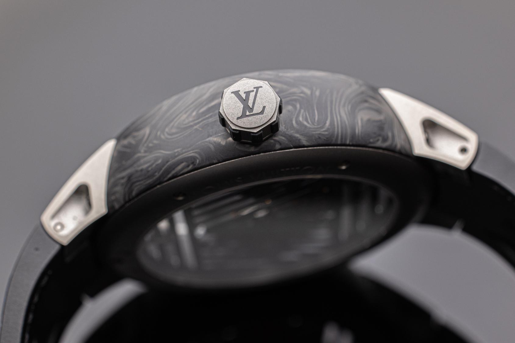 Louis Vuitton Tambour Curve Flying Tourbillon Poincon de Genève