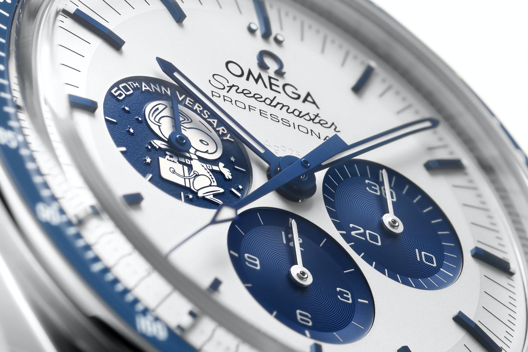 Omega Speedmaster 'Silver Snoopy Award' 50th Anniversary