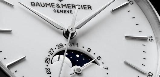 Baume & Mercier Clifton Baumatic Automatic Moon Phase