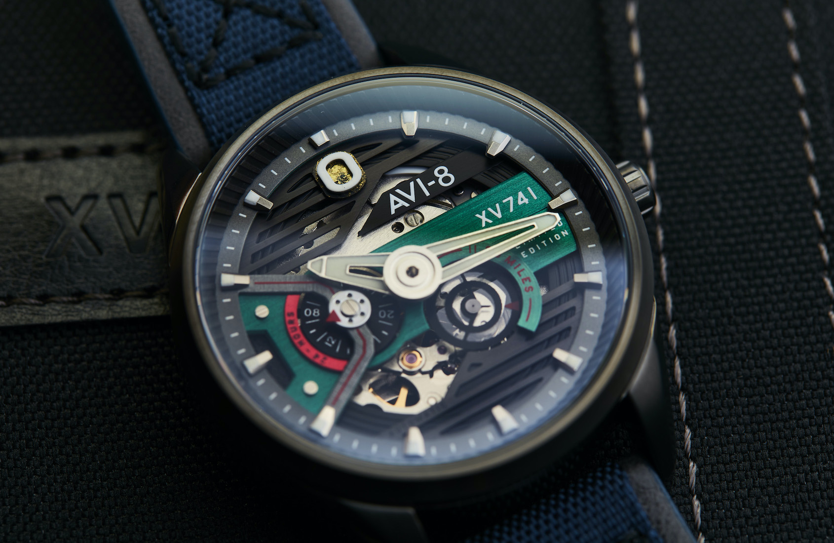 AVI-8 Hawker Harrier Blue Nylon Limited Edition