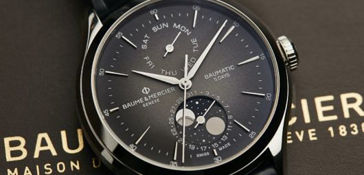 Baumatic Automatic COSC and Day Date Moon Phase